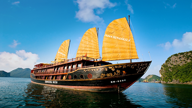 INDOCHINA SAILS CRUISE 5*